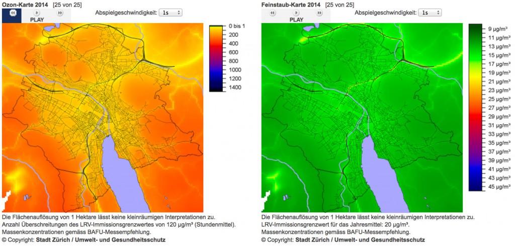 Schadstoffkarte-OZON-FEINSTAUB-2014-Stadt-Zuerich