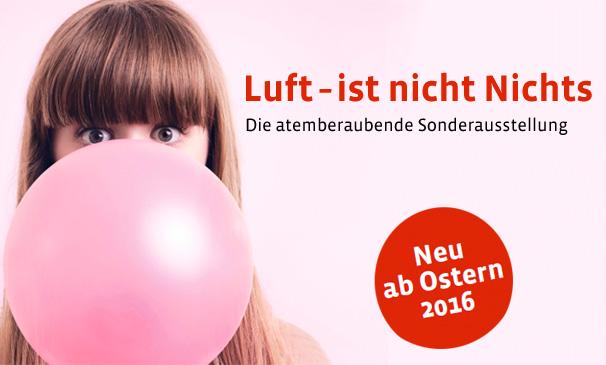 Luft Ausstellung Technorama - Bild Website
